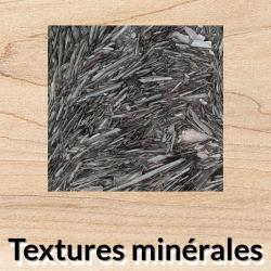 Textures minérales